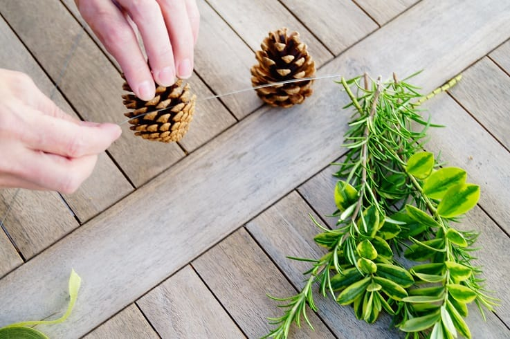 pine cone wire